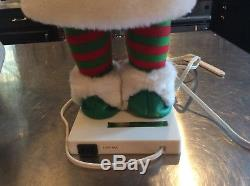 Vtg Animated Christmas Telco Motionette Pixie Baker Elf. Very Hard To Find