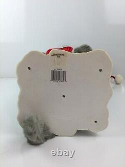 Vtg Telco Animated Motionette Motion-ette Standing Cat RARE Orig Box & Adapter