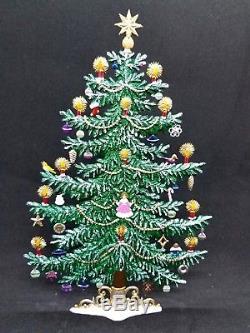 WILHELM SCHWEIZER GERMAN ZINNFIGUREN Decorated Christmas tree (5x8)