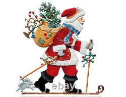 WILHELM SCHWEIZER GERMAN ZINNFIGUREN Hurry Santa (4 X 4)