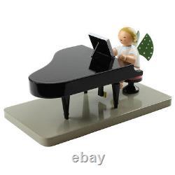 Wendt & Kuhn Sitting Blonde Angel Grand Piano Figurine