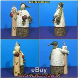 Williraye FFGH50448 LIGHT IN THE NIGHT Resin Snowman with LED Candle Figurine