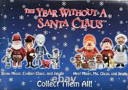 Year Without A Santa Claus NECA 11 Piece PVC Figurine Set Brand New RARE