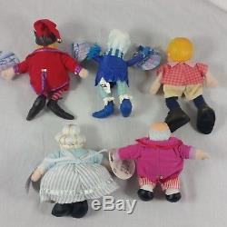 Year Without Santa Claus Plush Dolls Set Lot Christmas Neca Snow Miser Iggy Elf