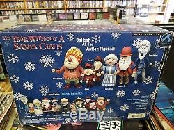 Year Without a Santa Heat Miser Mrs. Claus Jingle Figurine Action Figures Set